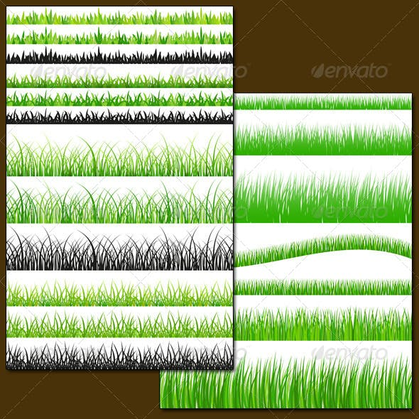 Seamless Grass Set