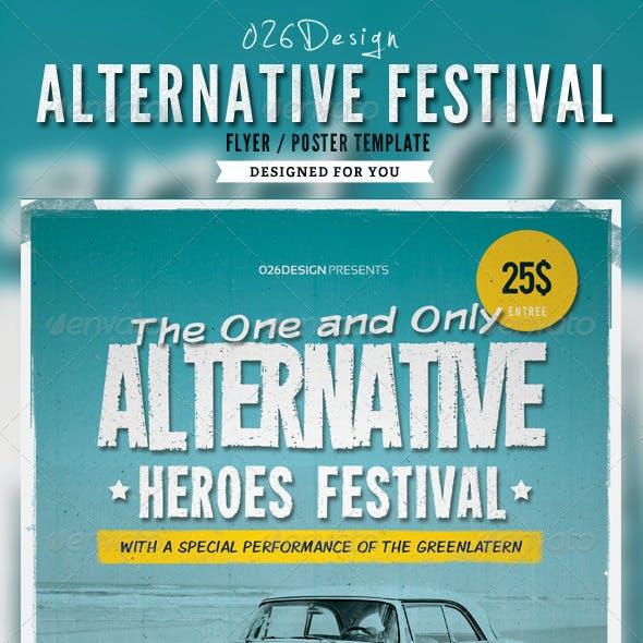 Alternative Festival Poster / Flyer