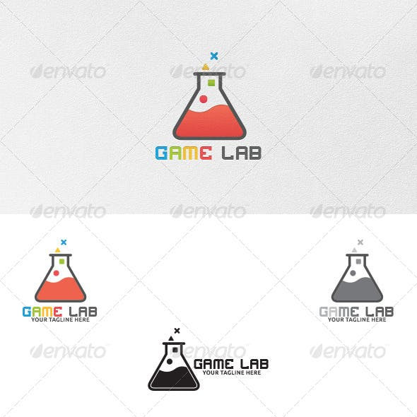 Game Lab - Logo Template