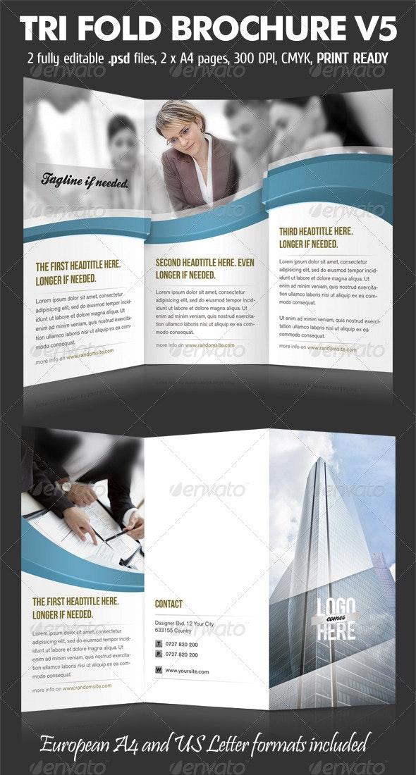 TriFold Brochure V5 - Corporate Brochures