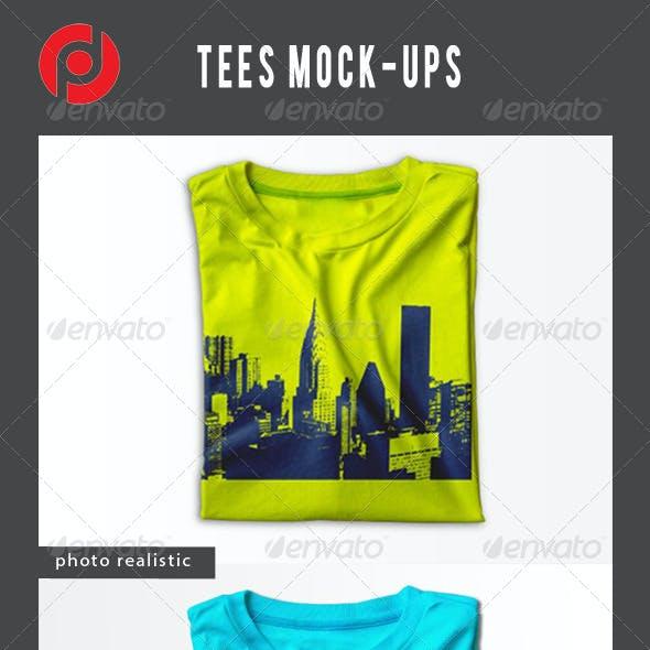 Tees Mock-Ups