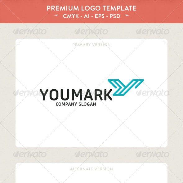 YouMark - Y Letter Logo