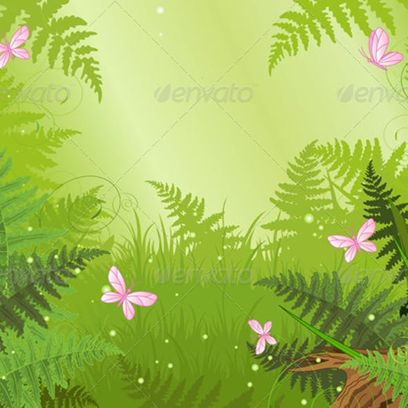 Magic Forest Landscape