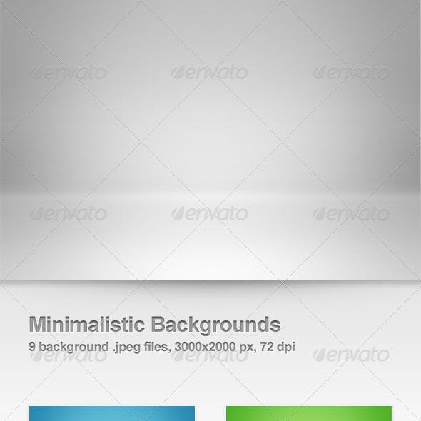 9 Minimalistic Backgrounds