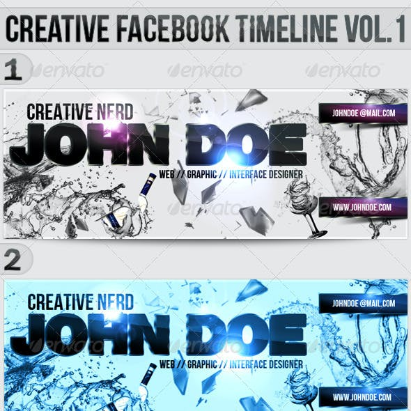 Creative Facebook Timeline Covers Vol.1