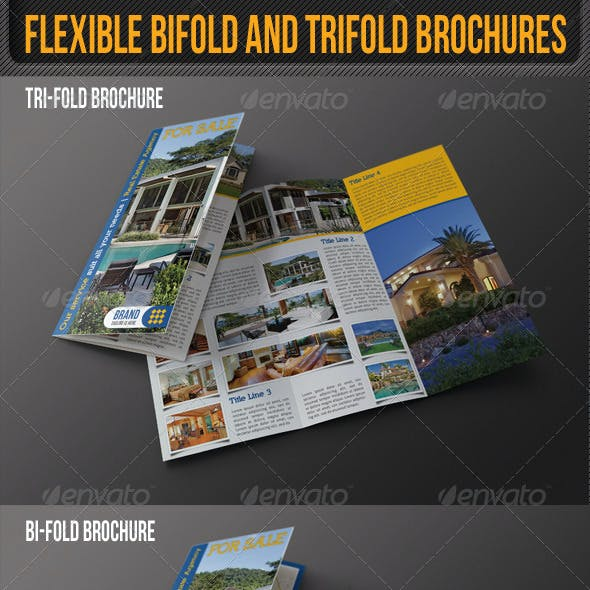 Flexible Bifold And Trifold Brochures