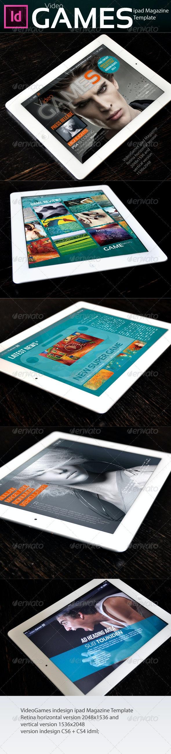 VideoGames ipad Magazine - Digital Magazines ePublishing