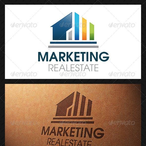 Marketing Real Estate Logo Template