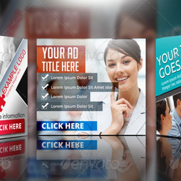 Multipurpose Corporate Banner Bundle