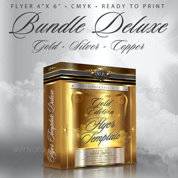 Bundle Deluxe (Flyer Template 4x6)