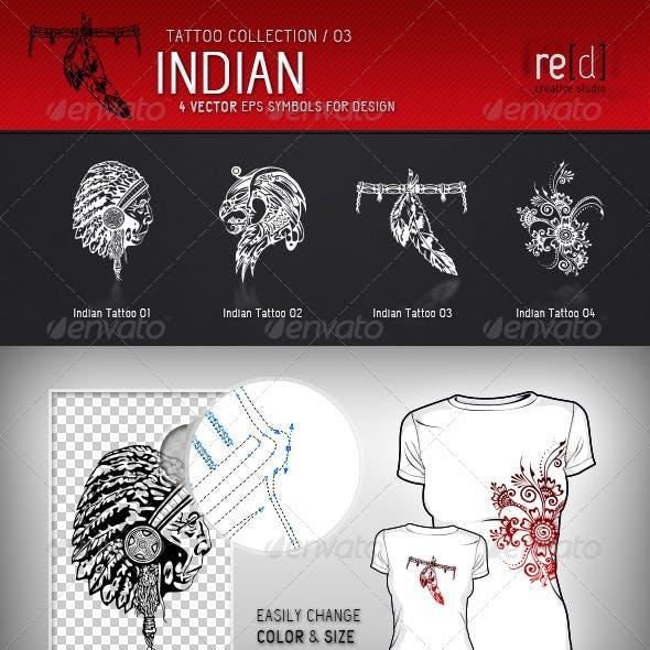 Indian Tattoo Symbols