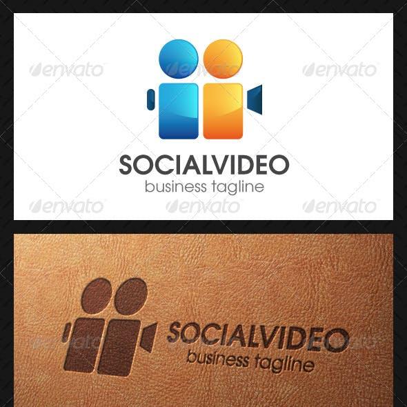 Social Video Logo Template
