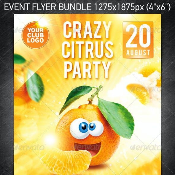 Crazy Friends Flyer Bundle