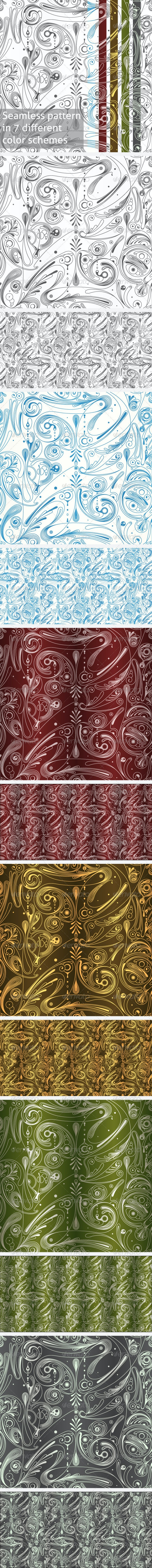 Modern Seamless Pattern - Patterns Decorative