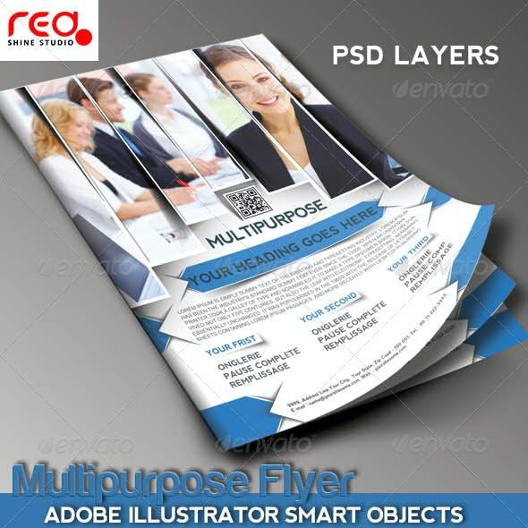 Multipurpose Business Flyer/Poster Magazine Templat