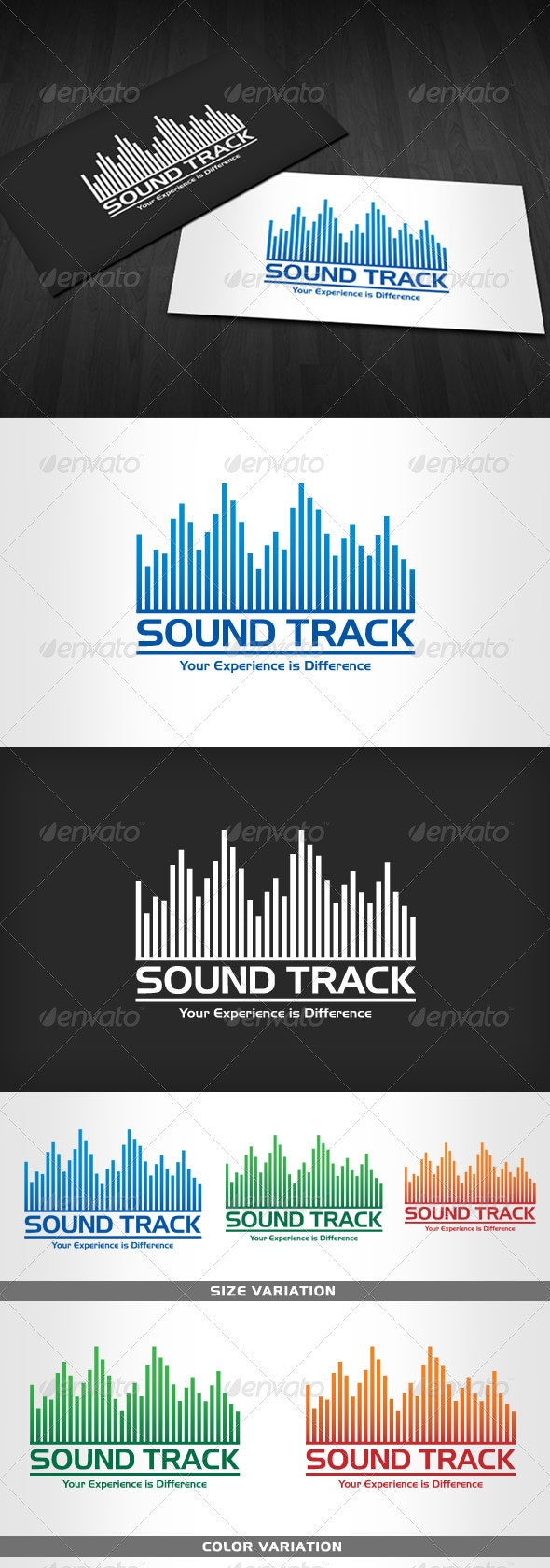 Sound Track - Logo for Business - Symbols Logo Templates