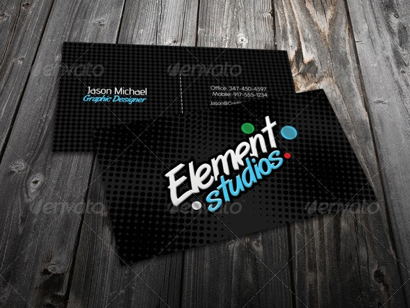 Element Business Card  - Corporate Business Cards