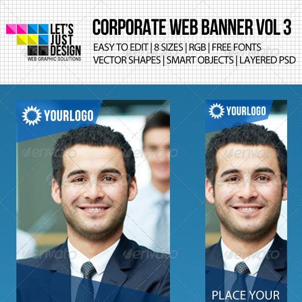 Corporate Web Banner Vol 3