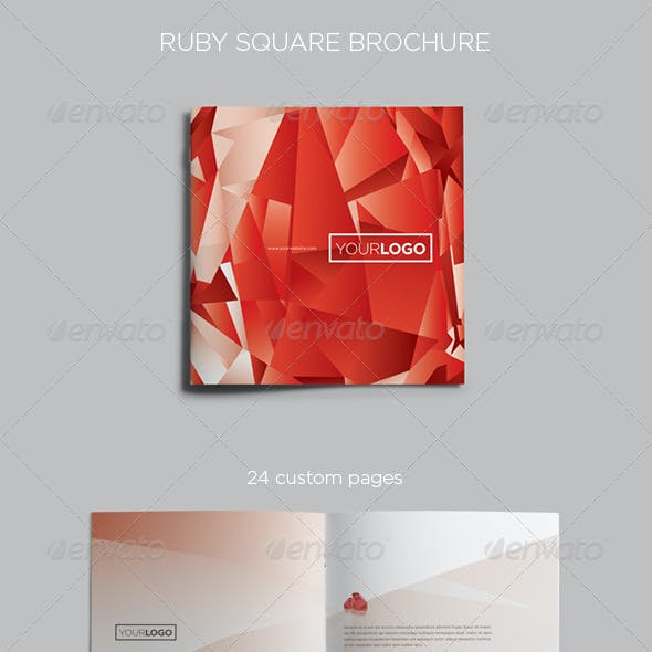 Ruby Square Brochure