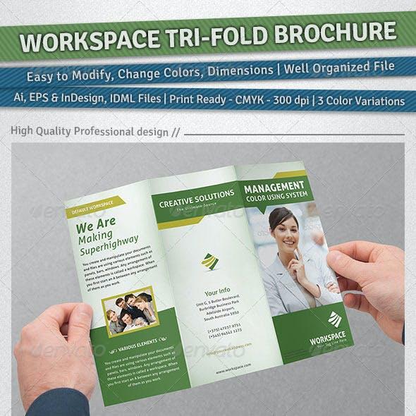 Workspace Tri-Fold Brochure