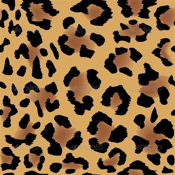 Leopard Skin Pattern - Patterns Decorative