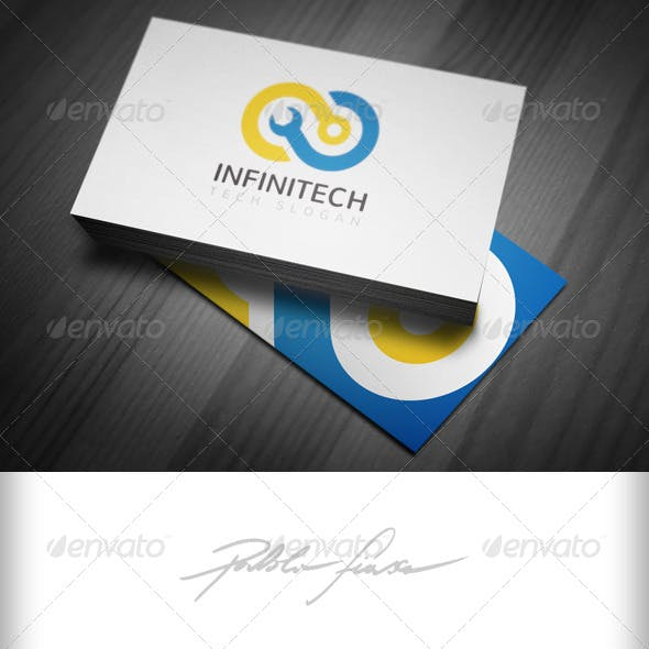 Infinity Logo - Computer Tech Support Logo