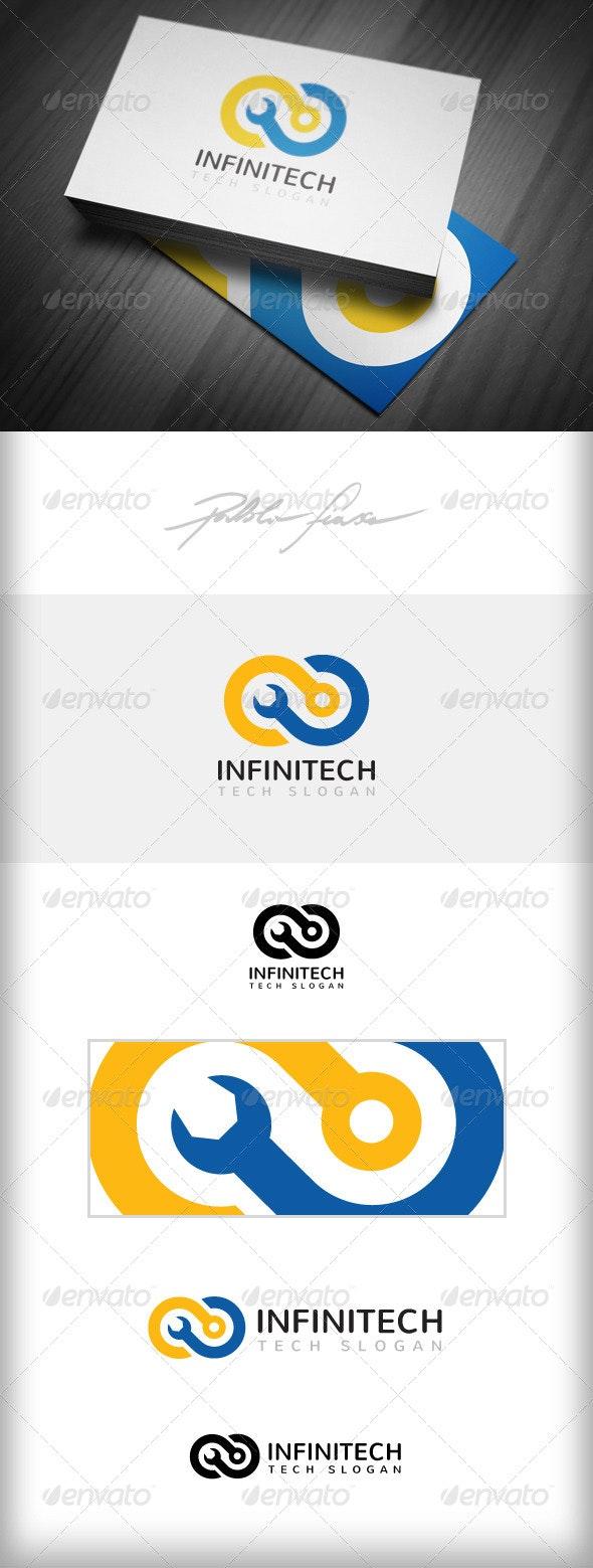 Infinity Logo - Computer Tech Support Logo - Symbols Logo Templates
