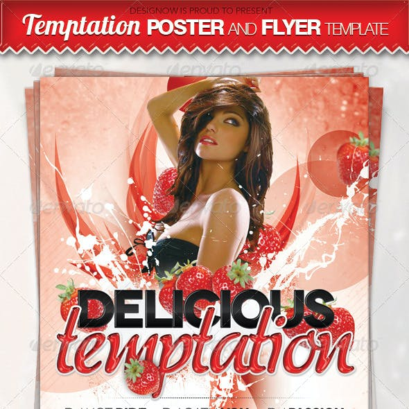 Delicious Temptation Flyer