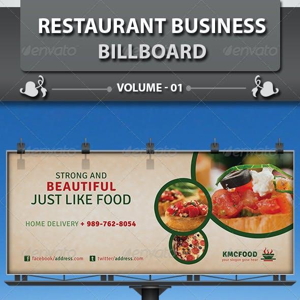 Restaurant Business Billboard | Volume 14