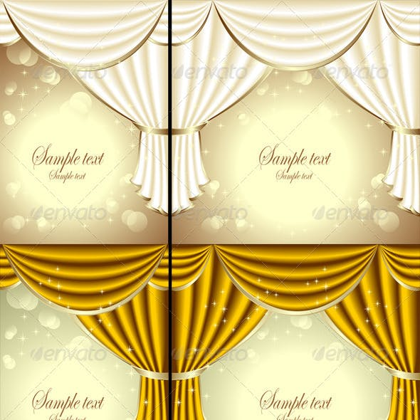 Background with Drapes