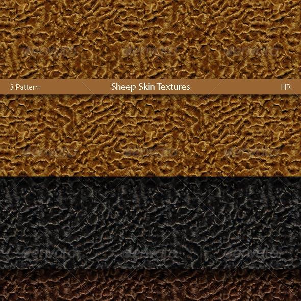 Sheep Skin Karakul Surfaces Texture Backgrounds