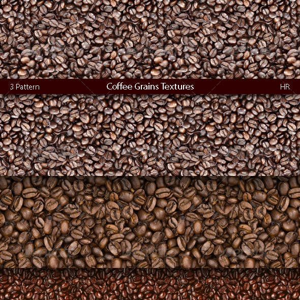 Coffee Grains Texture Backgrounds