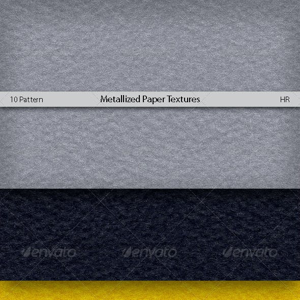 Metallized Colored Paper Texture