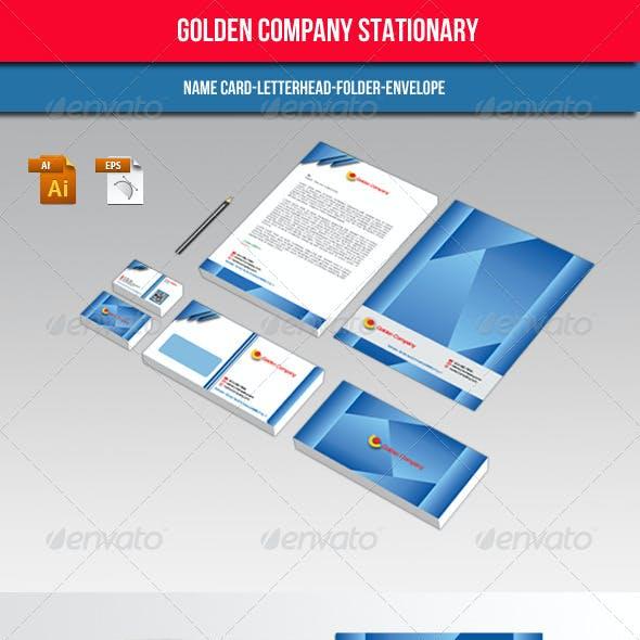 Golden Company Stationary