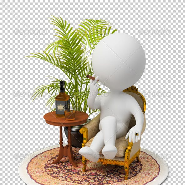 3d small people - luxury
