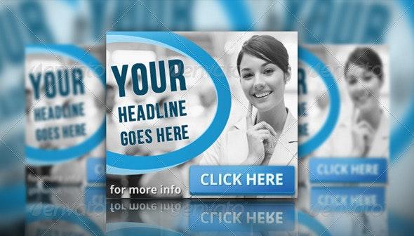 Multipurpose Corporate Banner Set Vol.4 - Banners & Ads Web Elements