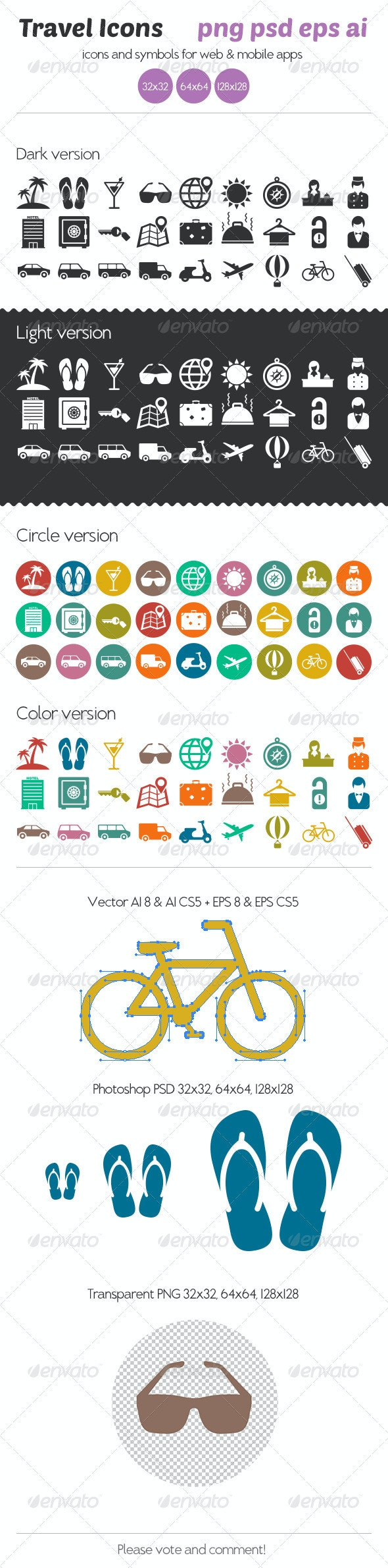 Travel Icons - Icons