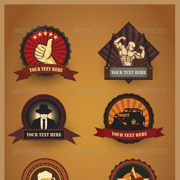 Various Badges Design Version 2