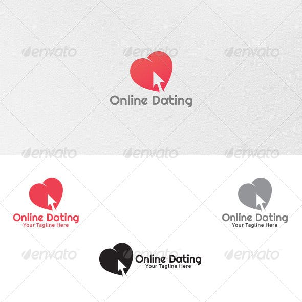 Online dating logot