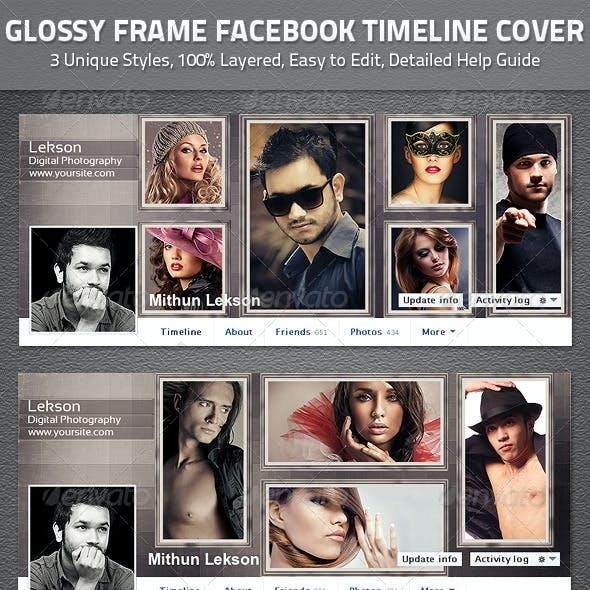 Glossy Frame Facebook Timeline Cover