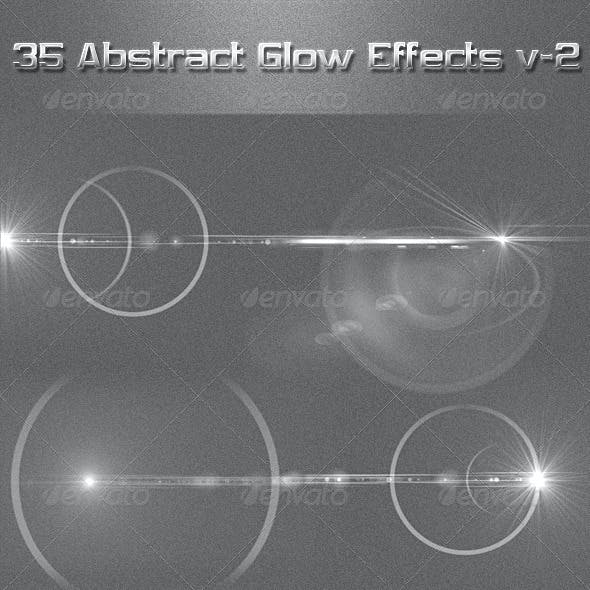 35 Abstract Glow Effects V-2