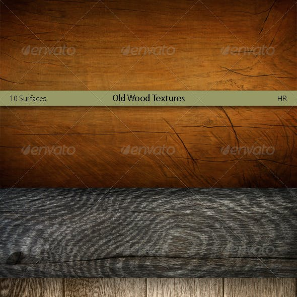 Old Wood Surfaces Texture Backgrounds