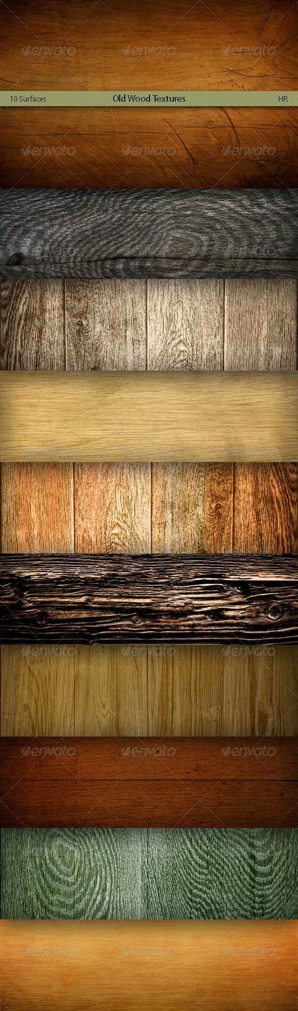 Old Wood Surfaces Texture Backgrounds - Nature Textures