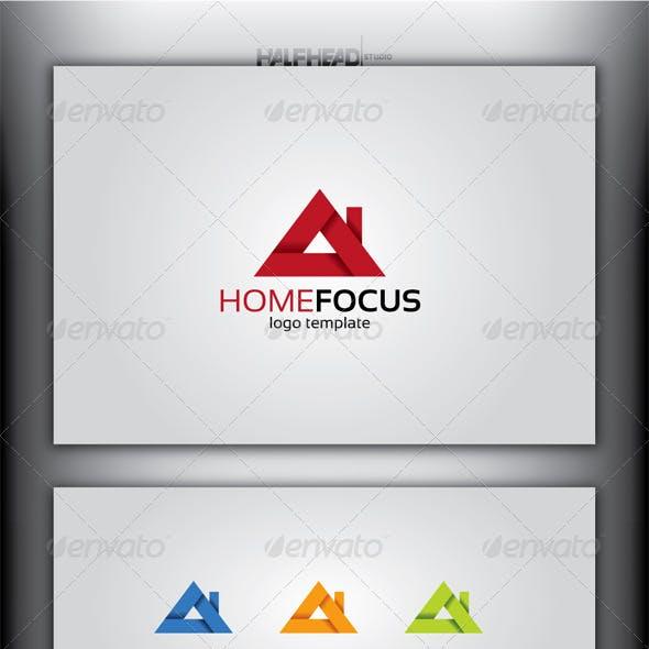 HomeFocus Logo Template