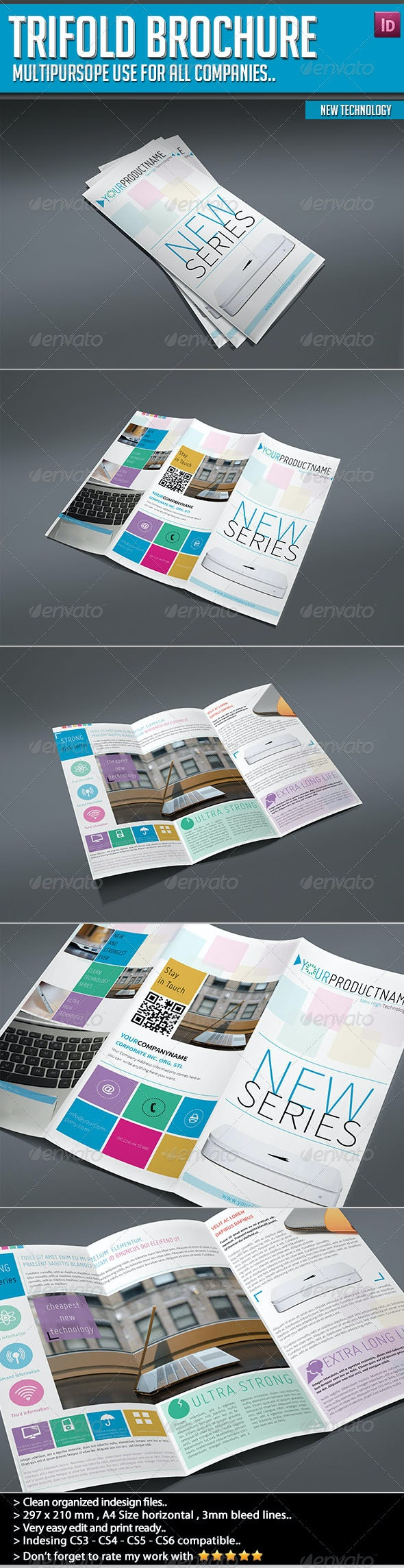 Trifold Brochure - New Technology - Informational Brochures
