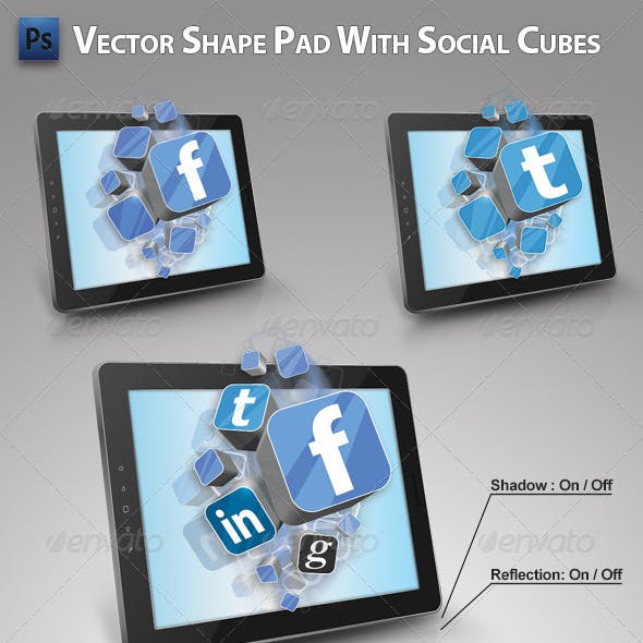 Pad with Social Cubes