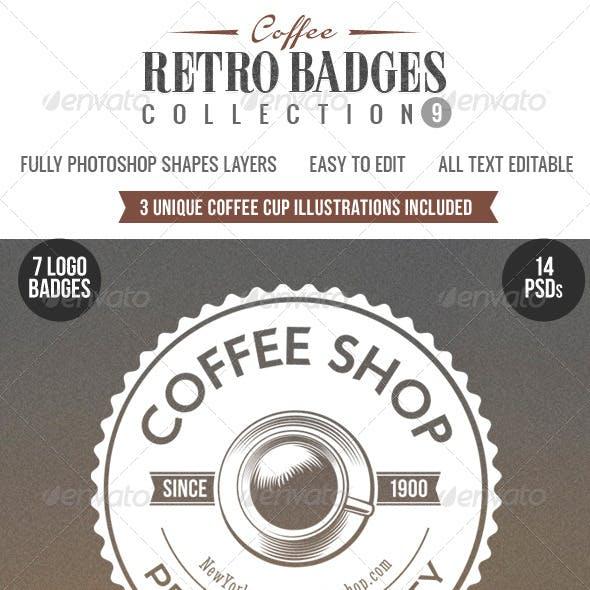 Retro Badges Col.9