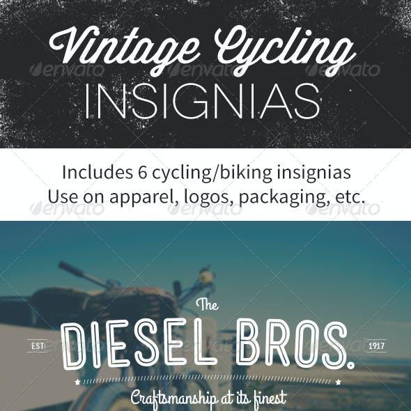 Vintage Cycling Insignias | Logos