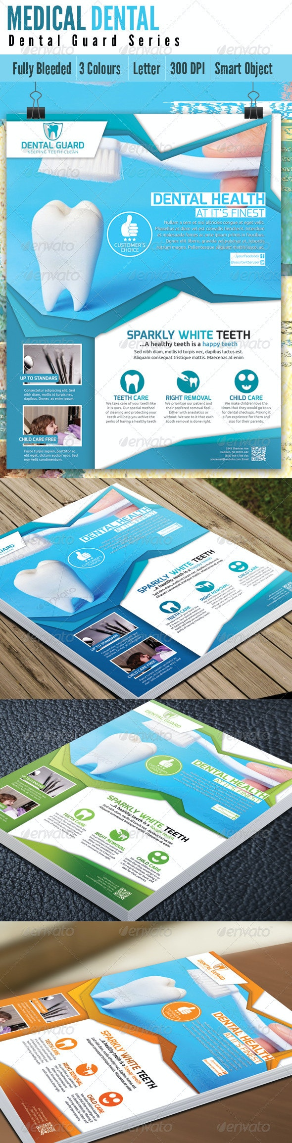 Medical Dental Flyer V2 - Corporate Flyers