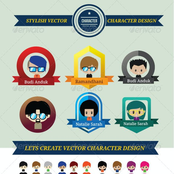 Cool and Stylish Character Design